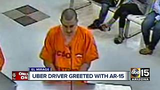 Valley Uber driver threatened with AR-15