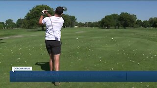 Golfing becoming more popular during the pandemic