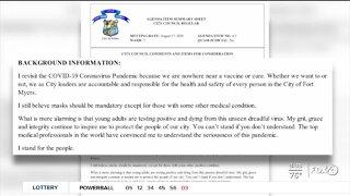 Fort Myers City Council votes against mask mandate