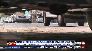 Senate passes texting while driving bill, with changes