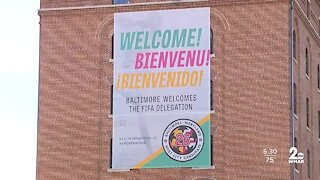 Delegation deciding where 2026 FIFA World Cup is played heads to Baltimore