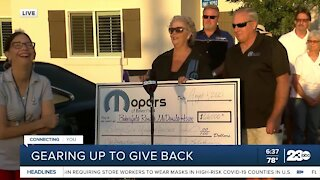 Ronald McDonald House receives donation from Mopars of Bakersfield