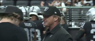 Jon Gruden resigns as Las Vegas Raiders head coach