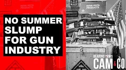No Summer Slump For Gun Industry