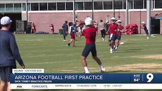Arizona Football first practice