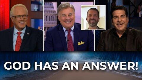 FlashPoint: God Has an Answer!   Donald Trump Jr, Hank Kunneman and Lance Wallnau (8/24/21) 