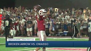 Owasso beats Broken Arrow 42-3