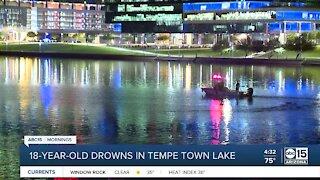 Man drowns at Tempe Town Lake