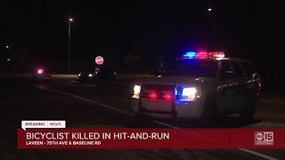 Bicyclist killed in hit-and-run in Laveen