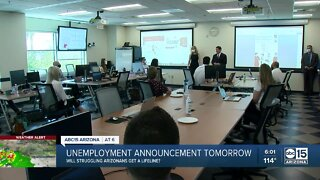 Asking for answers from governor about unemployment benefits