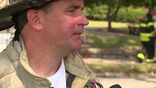 KCFD media update on Waldo church fire