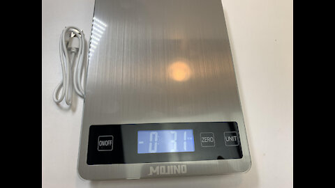 33 lbs oz Food Digital Kitchen Product Office Scale Weight Tare Backlit LCD Display