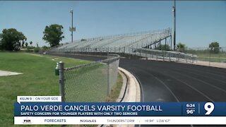Palo Verde cancels varsity football sesaon