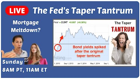 Taper Tantrums & CRASHING Markets? Is the FED to Blame?