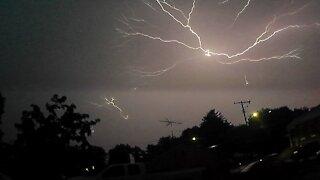 Lightning Strikes In Westminster