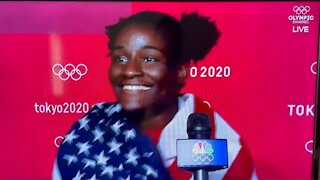 Olympic Gold Medalist: I LOVE Representing the USA!