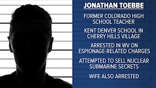 Navy engineer, wife charged in espionage case once taught in Colorado