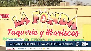 La Fonda restaurant to pay workers back 200K in wages
