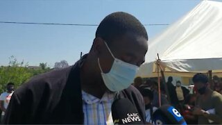 Santaco chief speaks media about EFF candidate killing