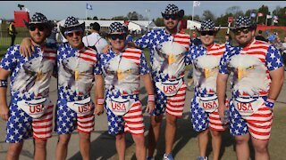 Ryder Cup fans buy outrageous and expensive outfits just for the weekend