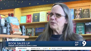 Local bookstore sees book sales rise during pandemic