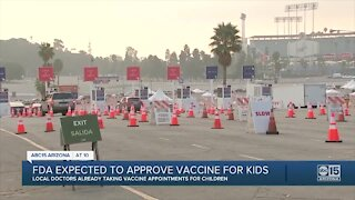 FDA expected to approve COVID vaccine for kids