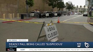 Mom, child dead after fall from Petco Park