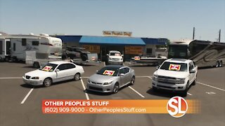 Need to sell your car? Rent a space and sell anything on wheels at Other People's Stuff