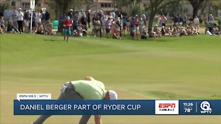 Daniel Berger heads to Ryder Cup