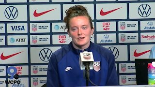 POSTGAME: Rose Lavelle talks about playing at TQL Stadium