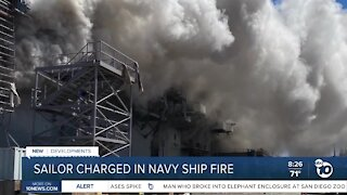 Expert weighs in on sailor charged in connection with Navy ship fire