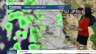 ABC 10News Pinpoint Weather for Sun. Oct. 17, 2021