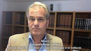 """""""MONEY TALKS IV"""" (frz. Untertitel) - Dr. Reiner Fuellmich 'Schadenersatzklage'."""