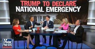 Trump prepares for backlash for national emergency
