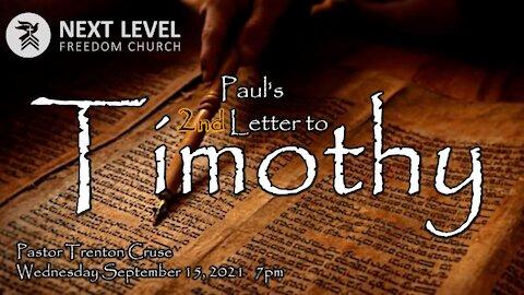 2 Timothy (9/19/21)