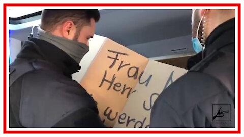 Bus Kortolle auf dem Weg nach Leipzig durch Polizei!
