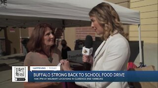 AM Buffalo live at Walmart for Buffalo Strong Back-to-School Food Drive for Feedmore WNY - Part 3