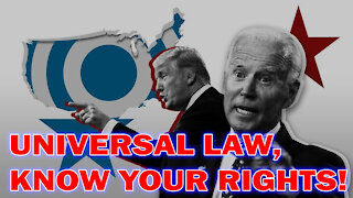 UNIVERSAL LAW, KNOW YOUR RIGHTS! DR CHARLIE WARD