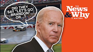 'LET'S GO BRANDON'? Reporter COVERS UP Anti-Biden Chant at Race | Ep 876