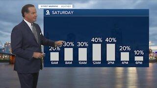 Your Friday morning forecast