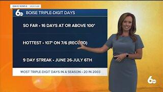 Rachel Garceau's Idaho News 6 forecast 8/4/21