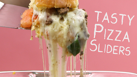 How to make tasty pizza sliders