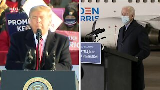 Biden, Trump campaign in Wisconsin Friday