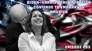 Biden And Harris Embarrass U.S. On Their Respective Trips | Booze & Banter | Ep 205