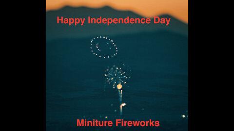 Stunning 4K Miniature Fireworks 2021 (Lensbaby Edition)