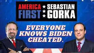 Everyone knows Biden cheated. Boris Epshteyn with Sebastian Gorka on AMERICA First