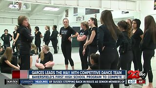 Garces leading the way with new competitive dance team