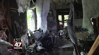 Family trying to move on after devastating fire