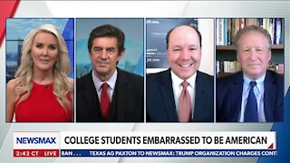 College Students Embarrassed to be American