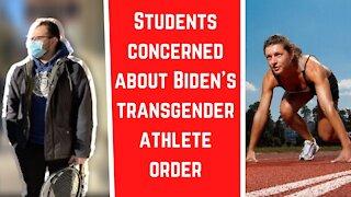 Students concerned about Biden's transgender athlete order